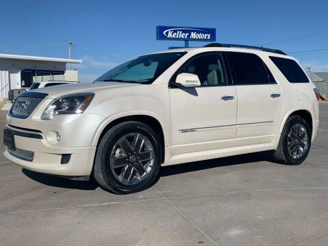 2012 GMC Acadia for sale at Keller Motors in Palco KS