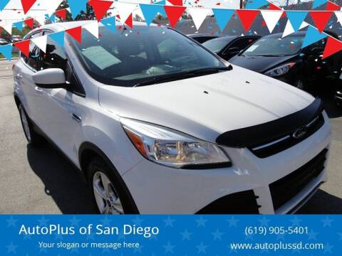 2013 Ford Escape for sale at AutoPlus of San Diego in Spring Valley CA