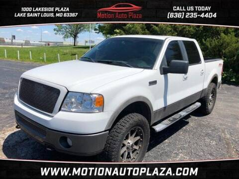 2007 Ford F-150 for sale at Motion Auto Plaza in Lakeside MO