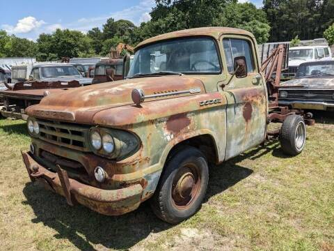 1959 Dodge D100 Pickup for sale at Classic Cars of South Carolina in Gray Court SC