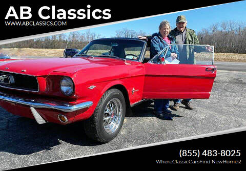 1966 Ford Mustang SOLD for sale at AB Classics in Malone NY