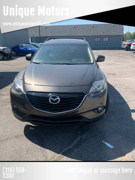 2015 Mazda CX-9 for sale at Unique Motors in Wichita KS