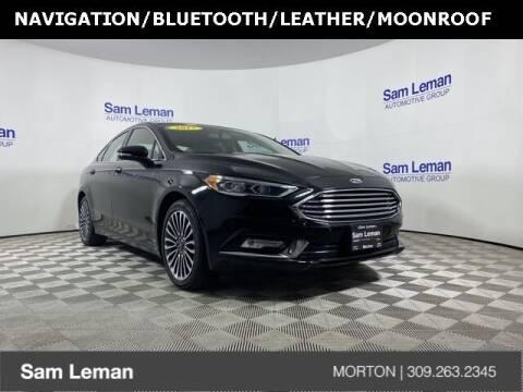 2017 Ford Fusion for sale at Sam Leman CDJRF Morton in Morton IL