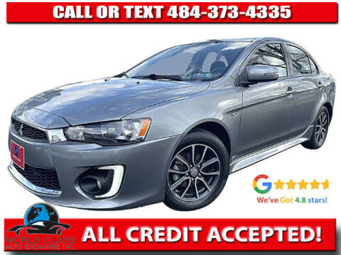 2017 Mitsubishi Lancer for sale at World Class Auto Exchange in Lansdowne PA