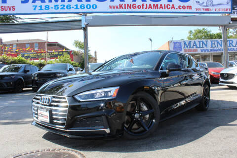 2018 Audi A5 Sportback for sale at MIKEY AUTO INC in Hollis NY