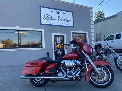 2012 Harley-Davidson Street Glide FLHX for sale at Blue Collar Cycle Company in Salisbury NC
