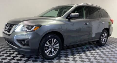 2018 Nissan Pathfinder for sale at SIRIUS MOTORS INC in Monroe OH