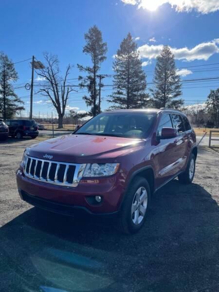 2012 Jeep Grand Cherokee for sale at Hamilton Auto Group Inc in Hamilton Township NJ