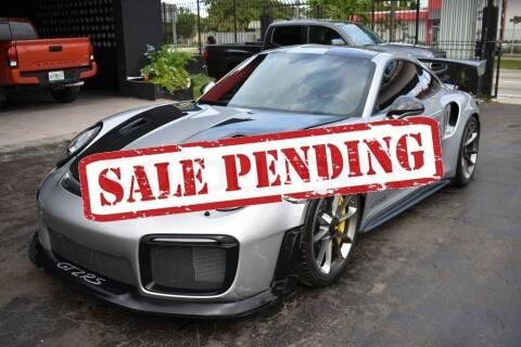 2018 Porsche 911 for sale at STS Automotive - Miami, FL in Miami FL
