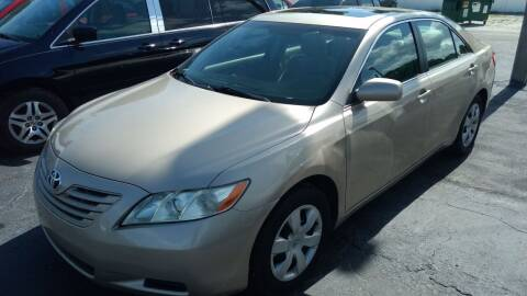2008 Toyota Camry for sale at AFFORDABLE AUTO SALES in We Finance Everyone! FL