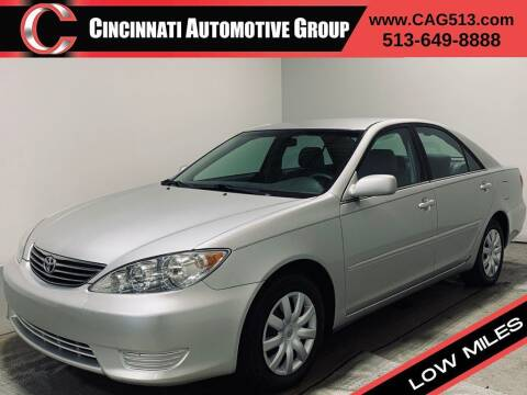 2005 Toyota Camry for sale at Cincinnati Automotive Group in Lebanon OH