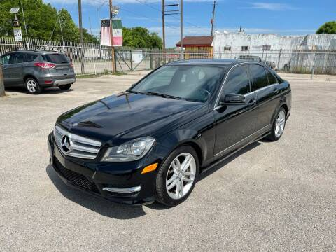 2013 Mercedes-Benz C-Class for sale at Saipan Auto Sales in Houston TX