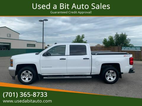 2014 Chevrolet Silverado 1500 for sale at Used a Bit Auto Sales in Fargo ND
