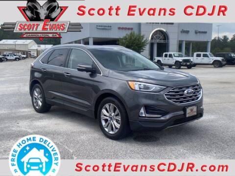 2019 Ford Edge for sale at SCOTT EVANS CHRYSLER DODGE in Carrollton GA