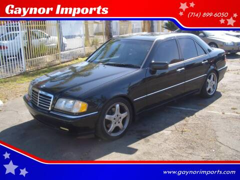 2000 Mercedes-Benz C-Class for sale at Gaynor Imports in Stanton CA