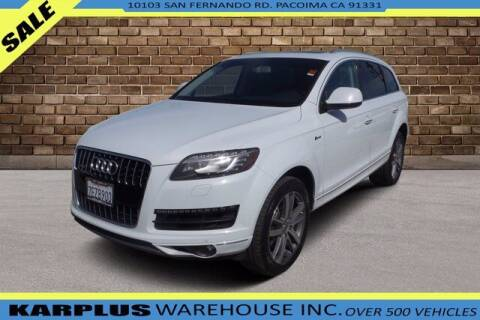 2014 Audi Q7 for sale at Karplus Warehouse in Pacoima CA