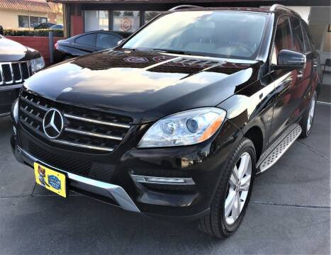 2012 Mercedes-Benz M-Class for sale at CARSTER in Huntington Beach CA