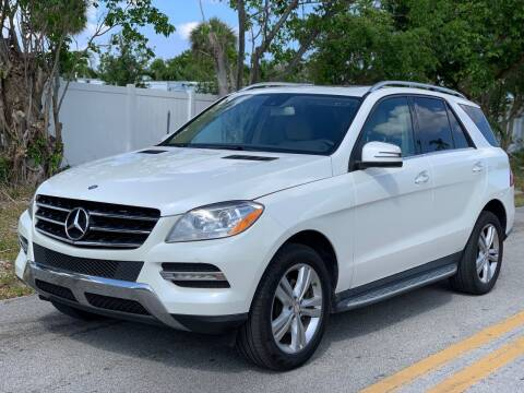 2013 Mercedes-Benz M-Class for sale at Citywide Auto Group LLC in Pompano Beach FL