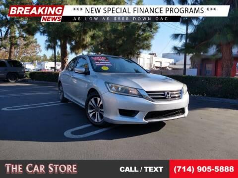 2013 Honda Accord for sale at The Car Store in Santa Ana CA
