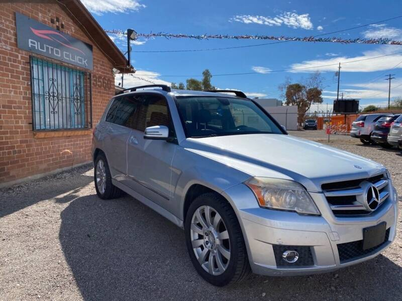 2011 Mercedes-Benz GLK for sale at Auto Click in Tucson AZ