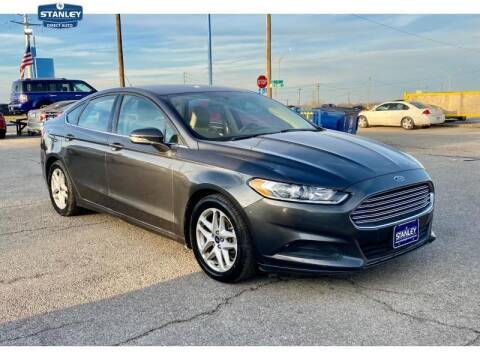 2016 Ford Fusion for sale at Stanley Automotive Finance Enterprise - STANLEY DIRECT AUTO in Mesquite TX