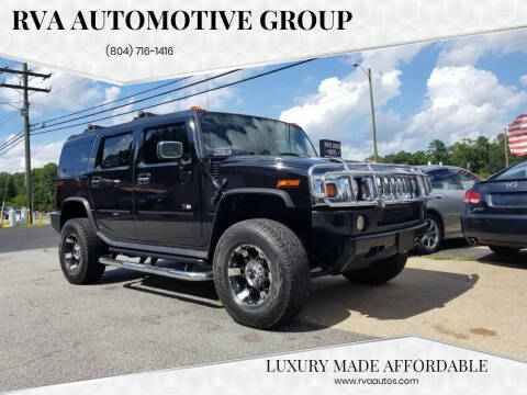2004 HUMMER H2 for sale at RVA Automotive Group in North Chesterfield VA