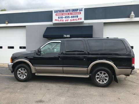 2001 Ford Excursion for sale at SOUTHERN AUTO GROUP, LLC in Grand Rapids MI