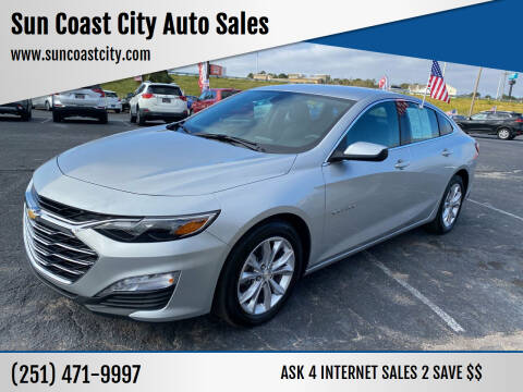 2020 Chevrolet Malibu for sale at Sun Coast City Auto Sales in Mobile AL