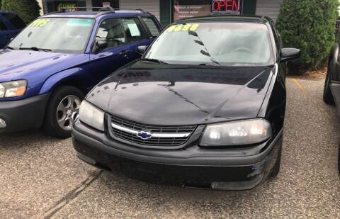 2002 Chevrolet Impala for sale at 51 Auto Sales in Portage WI