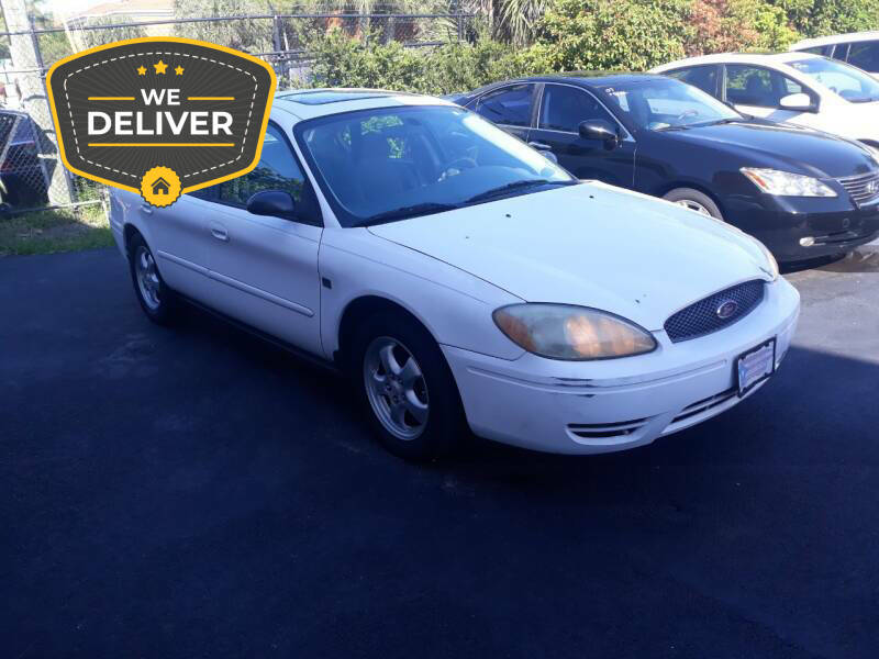 2004 Ford Taurus for sale at LAND & SEA BROKERS INC in Deerfield FL