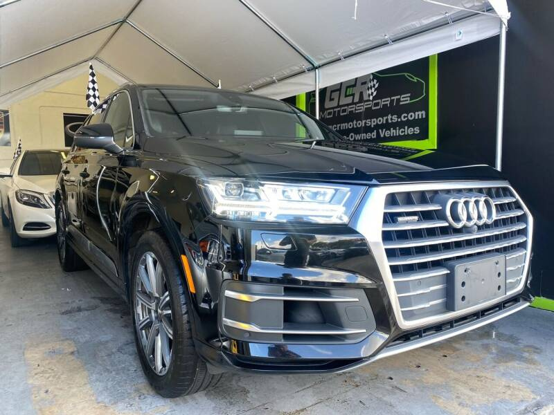 2017 Audi Q7 for sale at GCR MOTORSPORTS in Hollywood FL
