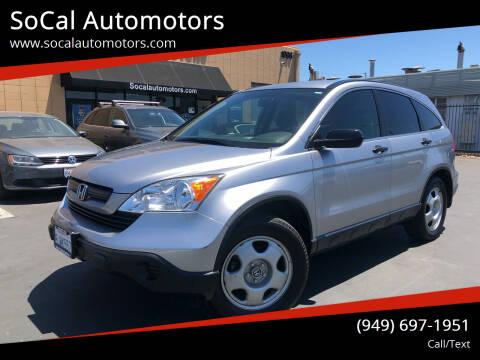 2008 Honda CR-V for sale at SoCal Automotors in Costa Mesa CA