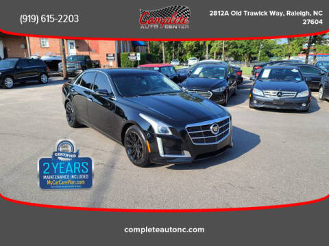 2014 Cadillac CTS for sale at Complete Auto Center , Inc in Raleigh NC