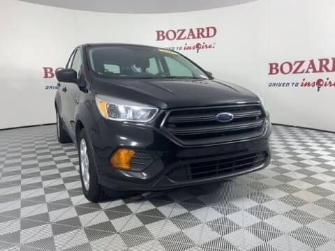 2017 Ford Escape for sale at BOZARD FORD in Saint Augustine FL