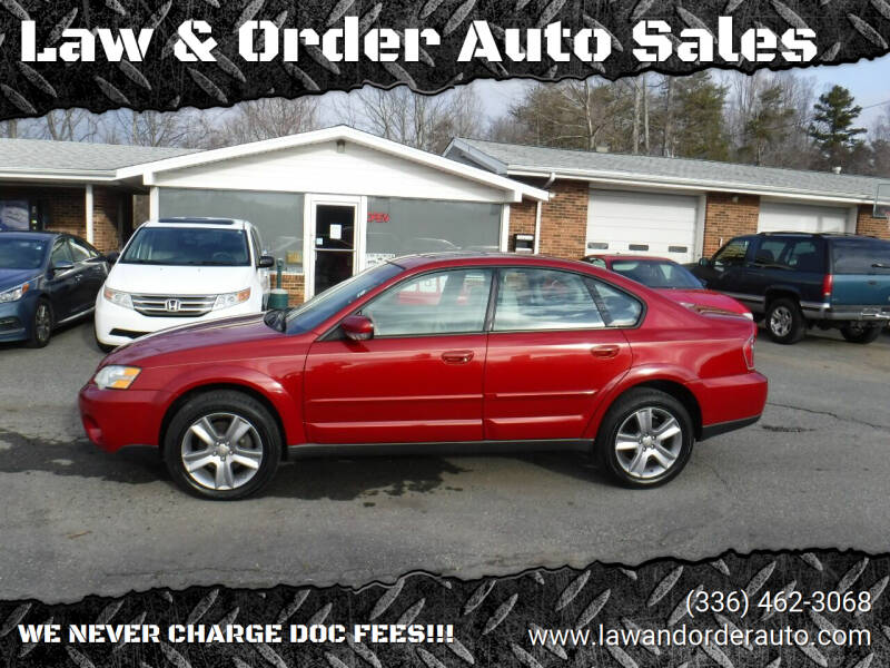 2006 Subaru Outback for sale at Law & Order Auto Sales in Pilot Mountain NC
