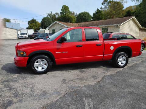 2003 Dodge Ram Pickup 1500 for sale at K & P Used Cars, Inc. in Philadelphia TN