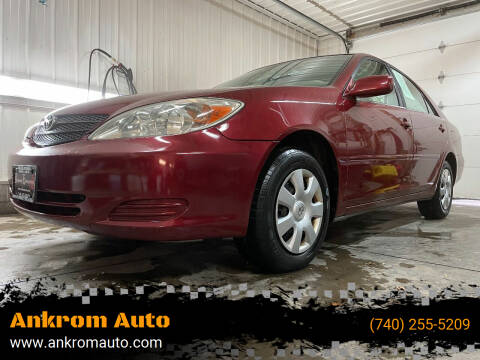 2004 Toyota Camry for sale at Ankrom Auto in Cambridge OH
