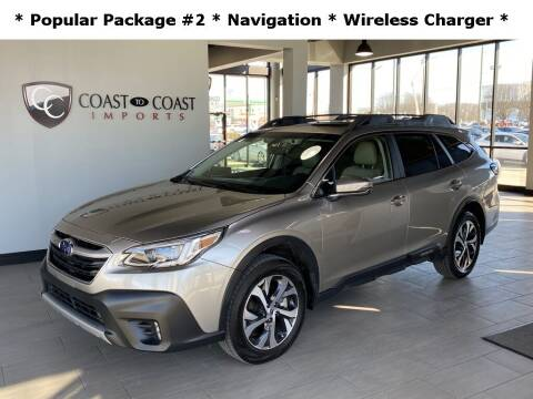 2020 Subaru Outback for sale at Coast to Coast Imports in Fishers IN