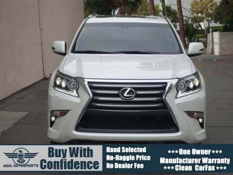 2016 Lexus GX 460 for sale at ASAL AUTOSPORTS in Corona CA