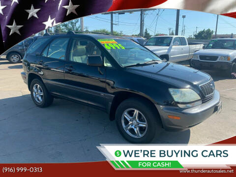 2002 Lexus RX 300 for sale at Thunder Auto Sales in Sacramento CA
