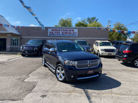 2013 Dodge Durango for sale at Brothers Auto Group in Youngstown OH