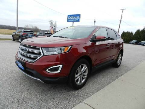 2017 Ford Edge for sale at Leitheiser Car Company in West Bend WI