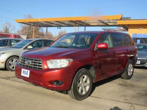 2008 Toyota Highlander for sale at Nile Auto Sales in Denver CO