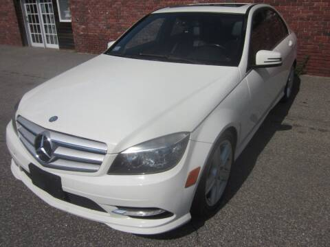 2011 Mercedes-Benz C-Class for sale at Tewksbury Used Cars in Tewksbury MA