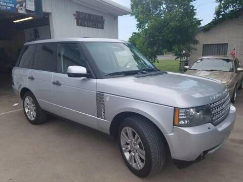 2010 Land Rover Range Rover for sale at Bad Credit Call Fadi in Dallas TX
