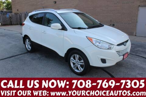 2012 Hyundai Tucson for sale at Your Choice Autos in Posen IL
