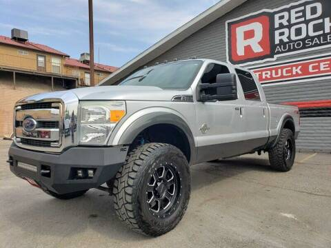 2016 Ford F-250 Super Duty for sale at Red Rock Auto Sales in Saint George UT