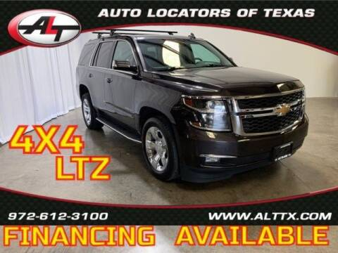 2016 Chevrolet Tahoe for sale at AUTO LOCATORS OF TEXAS in Plano TX