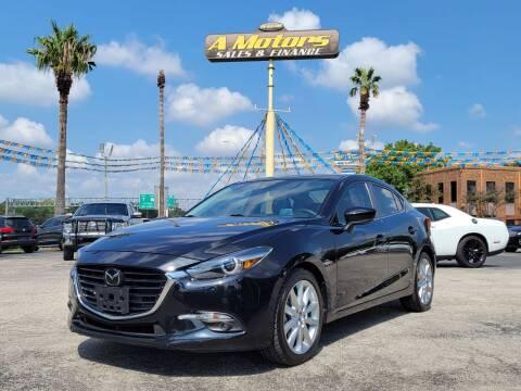 2017 Mazda MAZDA3 for sale at A MOTORS SALES AND FINANCE - 5630 San Pedro Ave in San Antonio TX