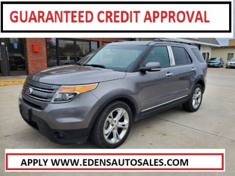 2013 Ford Explorer for sale at Eden's Auto Sales in Valley Center KS